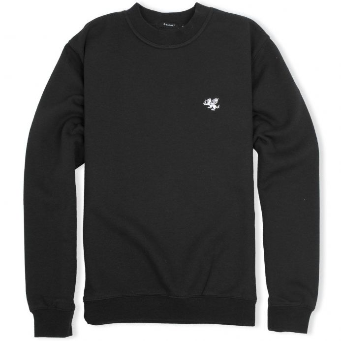Senlak Dragon Sweatshirt in black from our range of England and Anglo-Saxon branded clothing